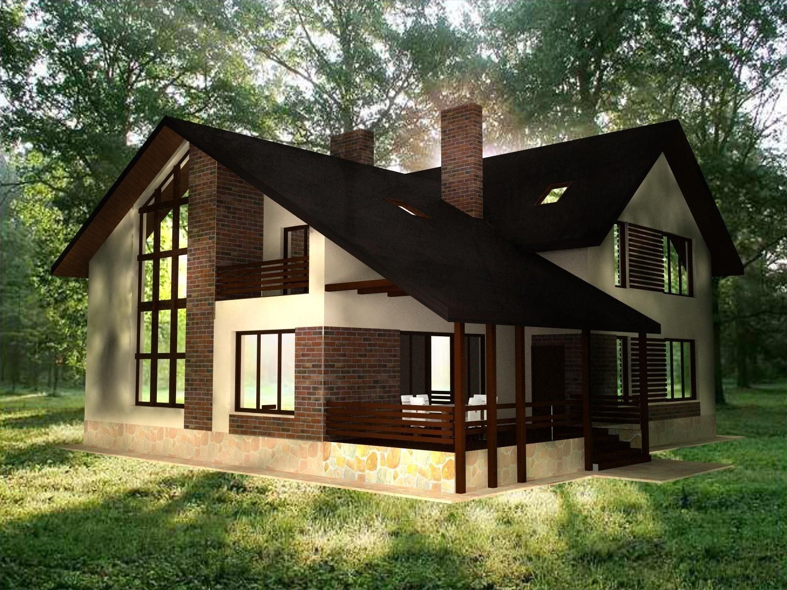 Фасад дом дизайн