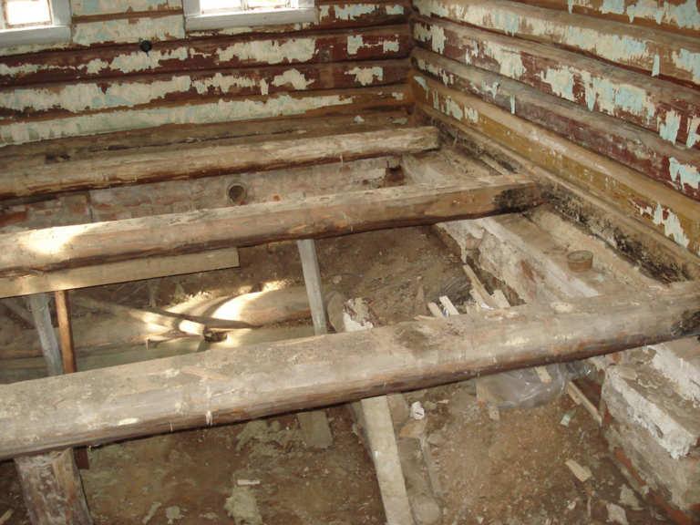 разбор старого деревянного дома своими руками