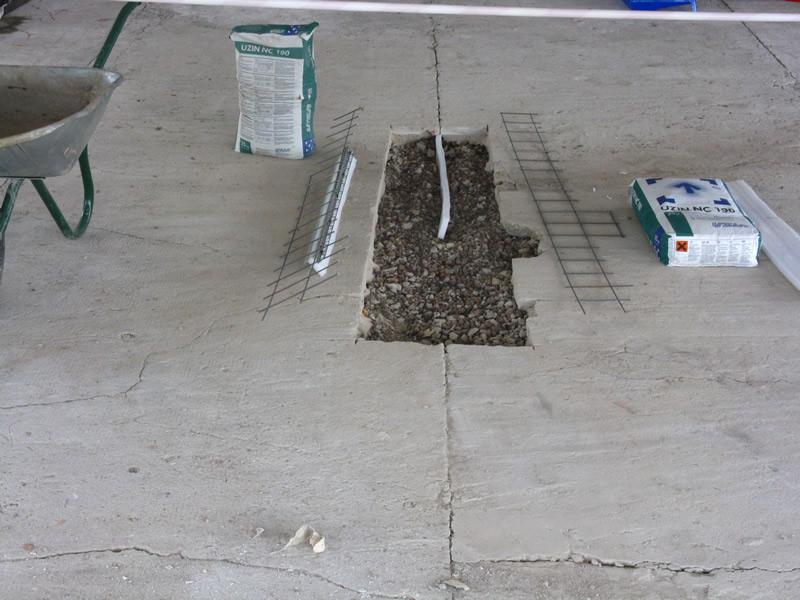 Ремонт бетону смотреть бетон 2004